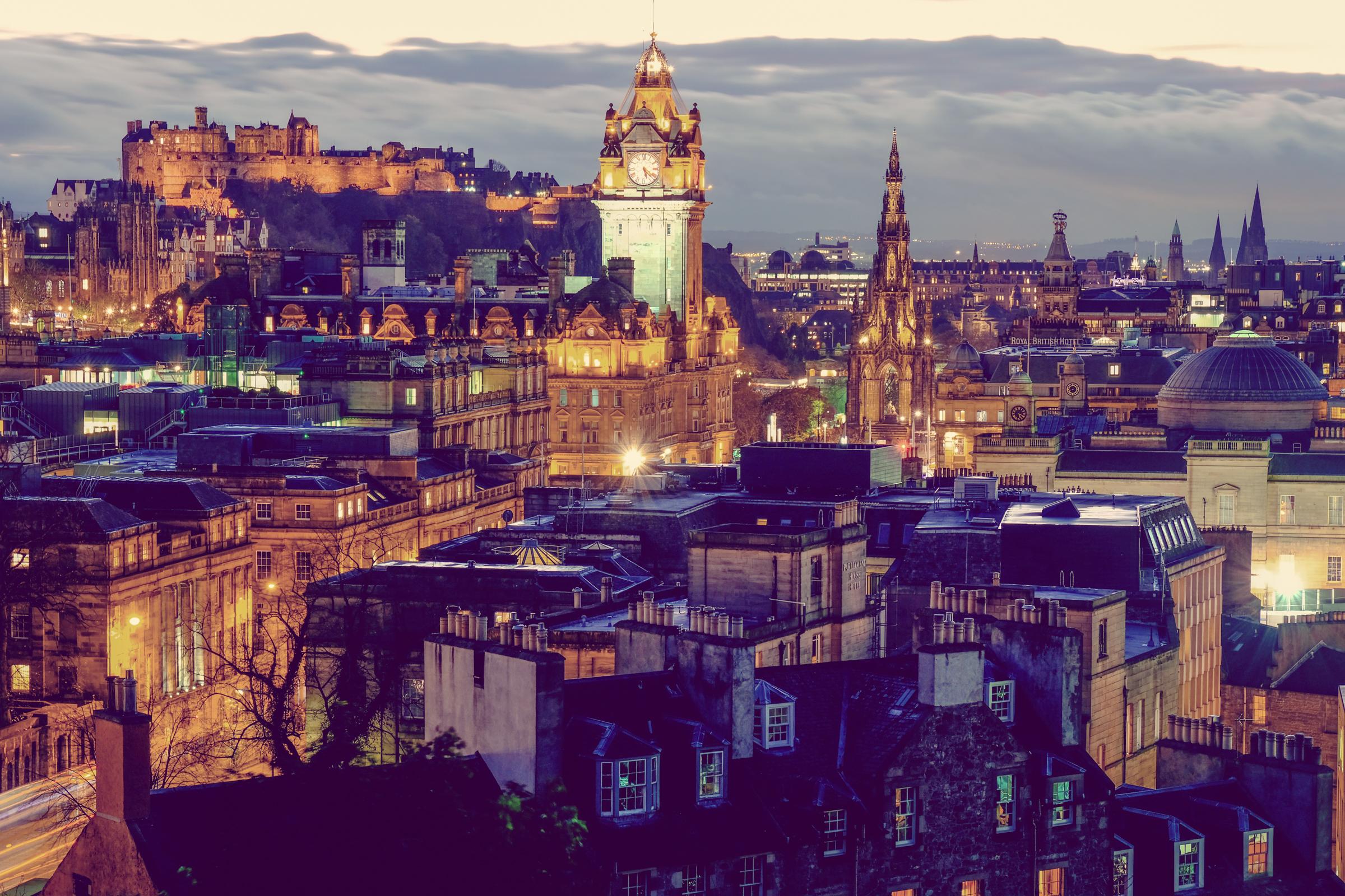 Scotlands capital city Edinburgh